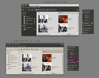 Divergence IV - A New Hope GTK Theme