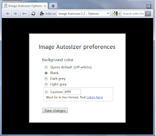 Image Autosizer Opera Extension