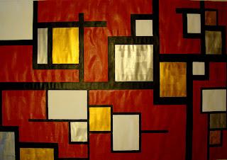 Dibujo pintura y algo m s pintura abstracta for Cuadros con formas geometricas