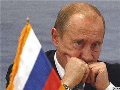 Russian Prime Minister Vladimir Putin has accused Europe of coveting Rusia's mineral resources.