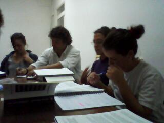 Integrantes del GPEPI en el seminario interno 2010