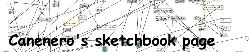 Canenero' s Sketchbook Page