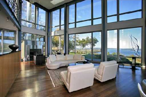 All the fresh things my dream house the glass house for All glass house plans