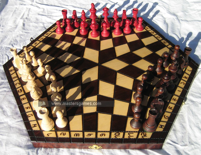 6 player chess game