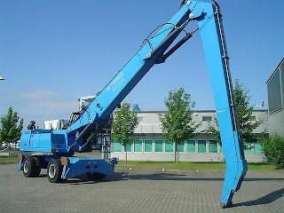 EXCAVATOR Industrial Terex Fuchs MHL 350 manevrare materiale 32 tone 2006 139.000 Euro