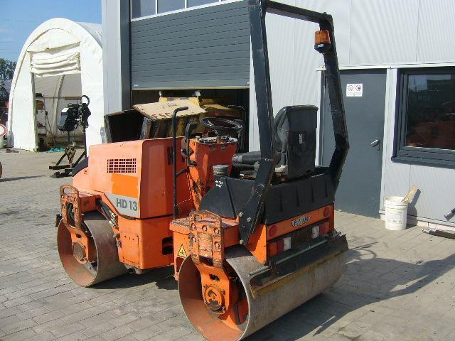 cilindru compactor asfalt hamm hd13 second hand de vanzare din 2000 6900 euro. Black Bedroom Furniture Sets. Home Design Ideas