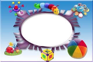 مجموعة كبيرة من بطاقات وبراويز وكروت للاطفال للكتابة بداخلها مع استخدامات كثيرة اخرى Molduras+infantis+mi