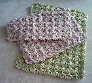 Crochet a Cotton Dishcloth - Free Pattern to Crochet a Cotton