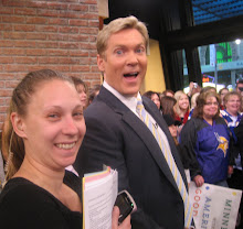 Laurie Benner and Sam Champion