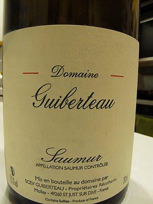 Guiberteau Saumur Blanc