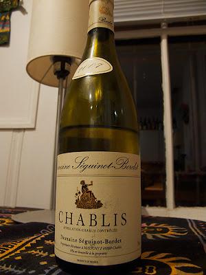 Seguinot-Bordet Chablis 2007