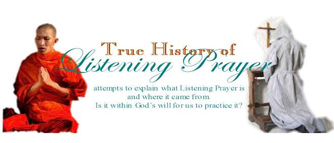 True History About Listening Prayer