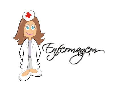 Desenho Criado Para Convite De Formatura Do Curso De Enfermagem