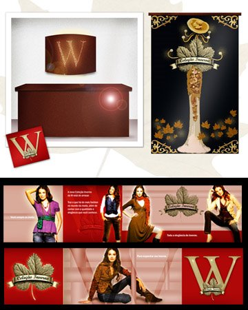 W. loja de roupas