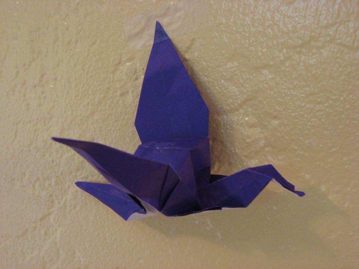 JOSHUA: origami crane - photo#30