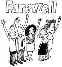 farewell sign