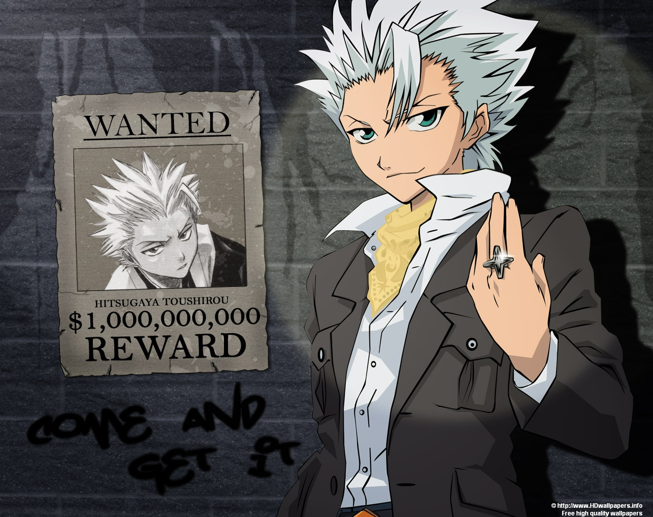 Anime Wallpaper Bleach Wallpaper Wanted Hitsugaya Toushiro