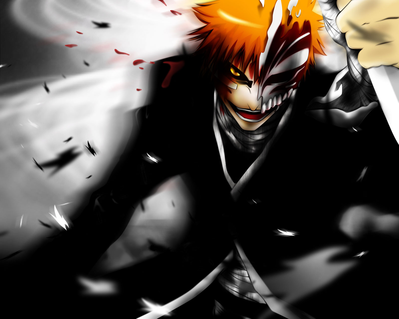 bleach ichigo hollow wallpaper - photo #4