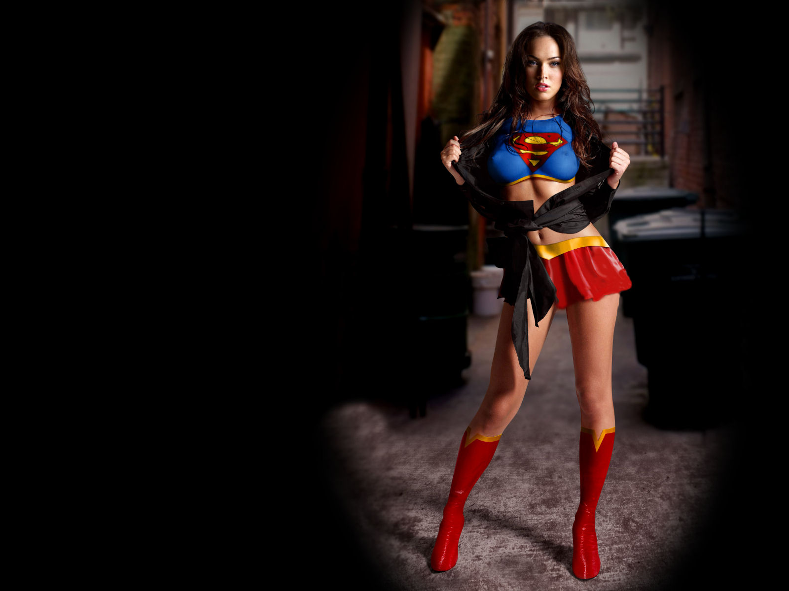 d33blog  Megan Fox As Supergirl