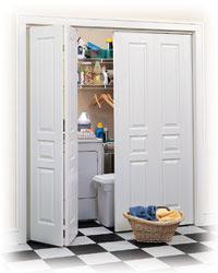 Interior closet doors'