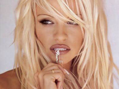 pam anderson wallpaper. Pam Anderson still sexy but
