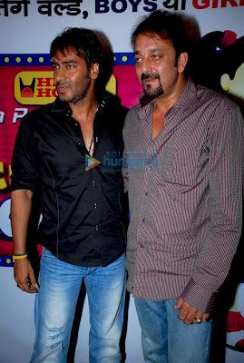 Ajay Devgan, Sanjay Dutt