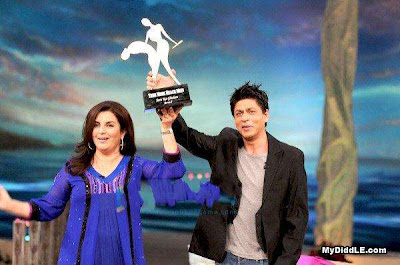 Shahrukh Khan with farah khan