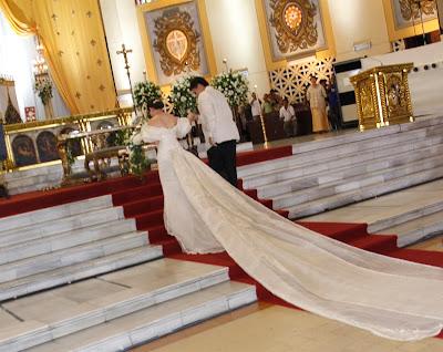 Mar Roxas and Korina Sanchez Wedding Photo