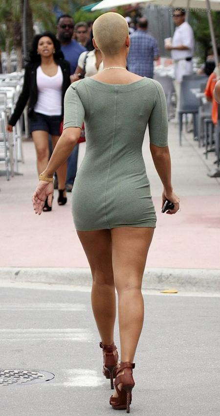 amber rose beach pics. Amber Rose at South Beach in