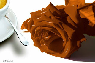 Chocolate art photo
