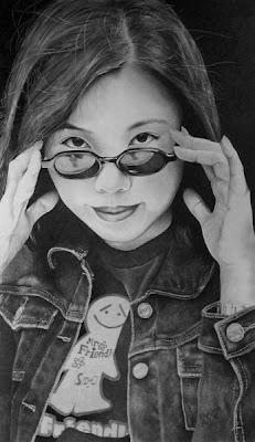 Amazingly Beautiful Pencil Drawings of Women