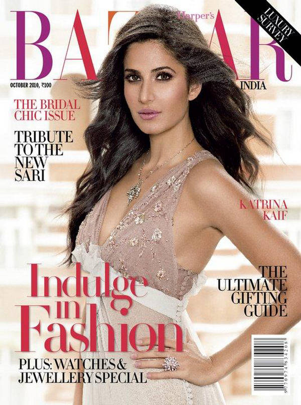 Katrina Kaif Harper's Bazaar India October 2010