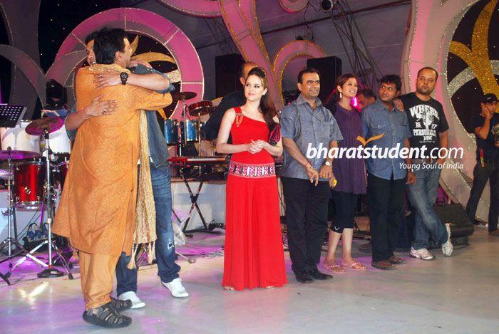 A Flat Movie Cast Visit Sankalp Dandiya
