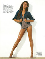 Jessica Alba Sizzles photo on the cover of GQ Magazine November 2010