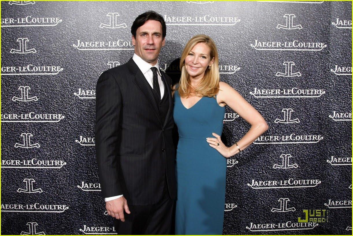 Jon Hamm and Jennifer Westfeldt Jaeger-LeCoultre Celebrating Event