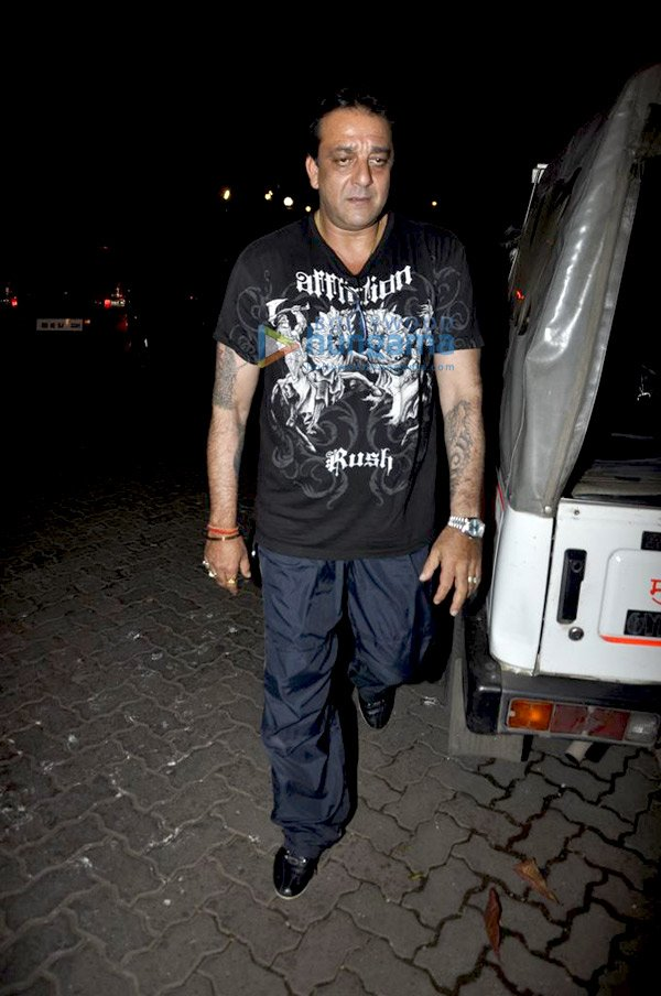 Sanjay Dutt Graces Knock Out Screening