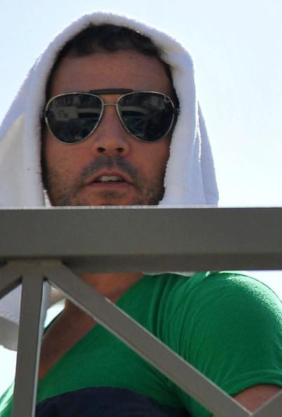 Jeremy Piven Leaving A Yoga Class In Santa Monica