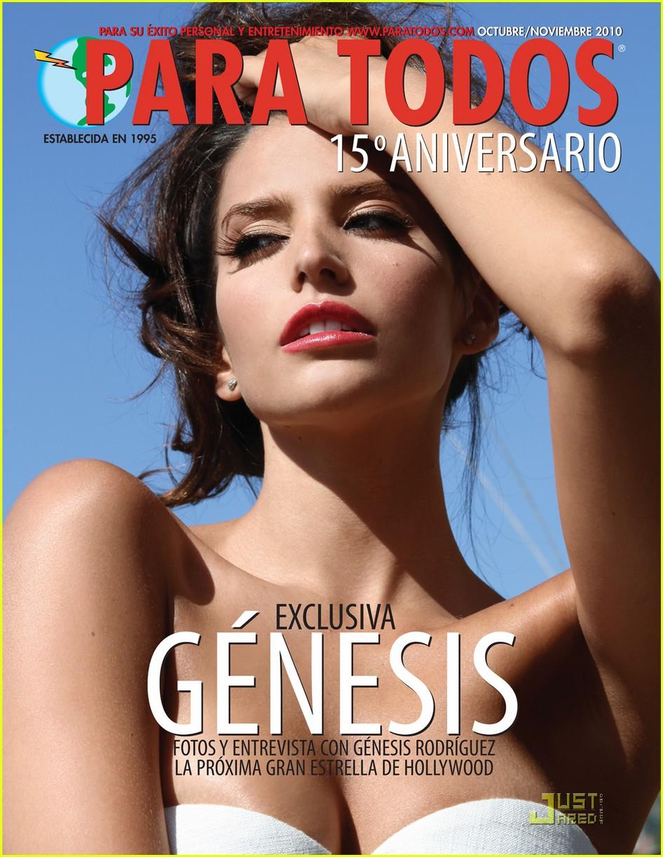 Genesis Rodriguez Para Todos Magazine Pics