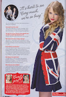 Taylor Swift Bliss Magazine November 2010