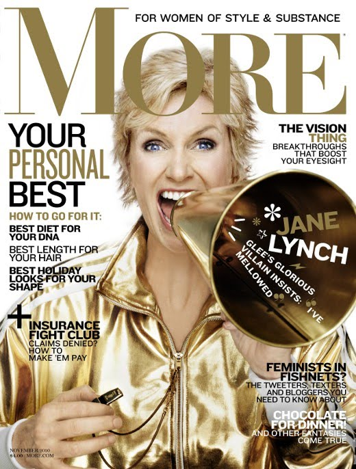 Jane Lynch More Magazine November 2010