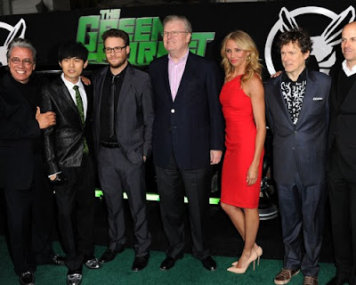 Los Angeles Premiere of Movie The Green Hornet Pics