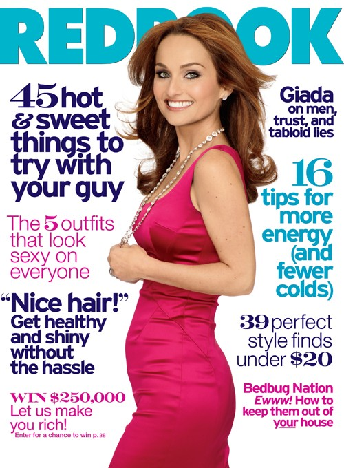 Giada De Laurentiis Redbook Magazine February 2011