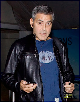 George Clooney Says to Nolan Gould That You're Dapper!