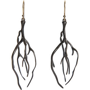 annette,ferdinandsen,barneys,portland,oregon,earrings,root,sculptural,jewelry
