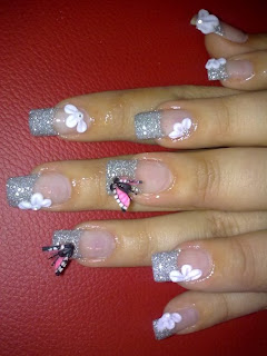 Crazy World Funky Nail Designs