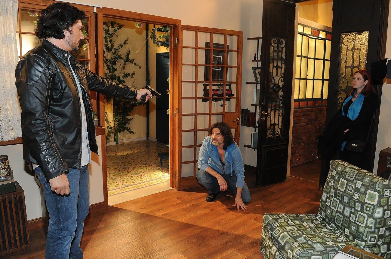 Rodolfo (Laport) y Rocío (Del