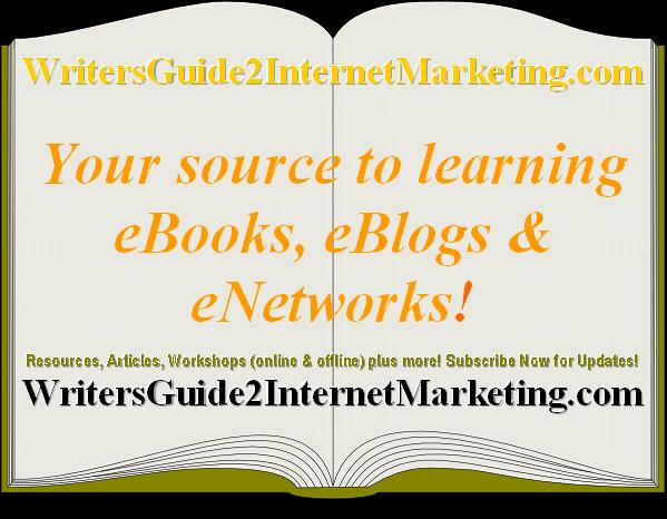 Internet Marketing For Writers &amp; Businesses
