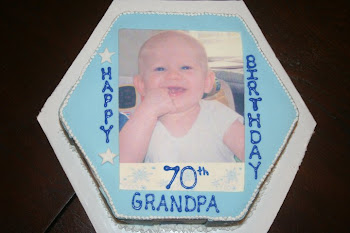 Grandpa's 70th Birthday Cake