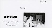 Mario Keegan en la radio