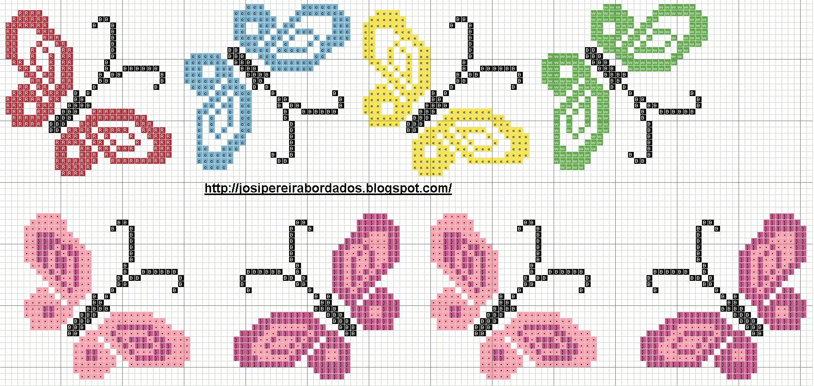 Вышивка крестом простая схемы : красиво и легко, маленькие для начинающих
